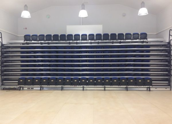 School Retractable Seating
