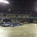 renovation project retractable seating