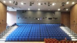 Spotlight Retractable Seating by Hussey Seatway