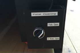 Electronic Partial Opening