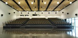Bideford_College Retractable Seating