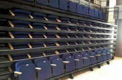 Retractable seating at Educational Venue, Hong Kong