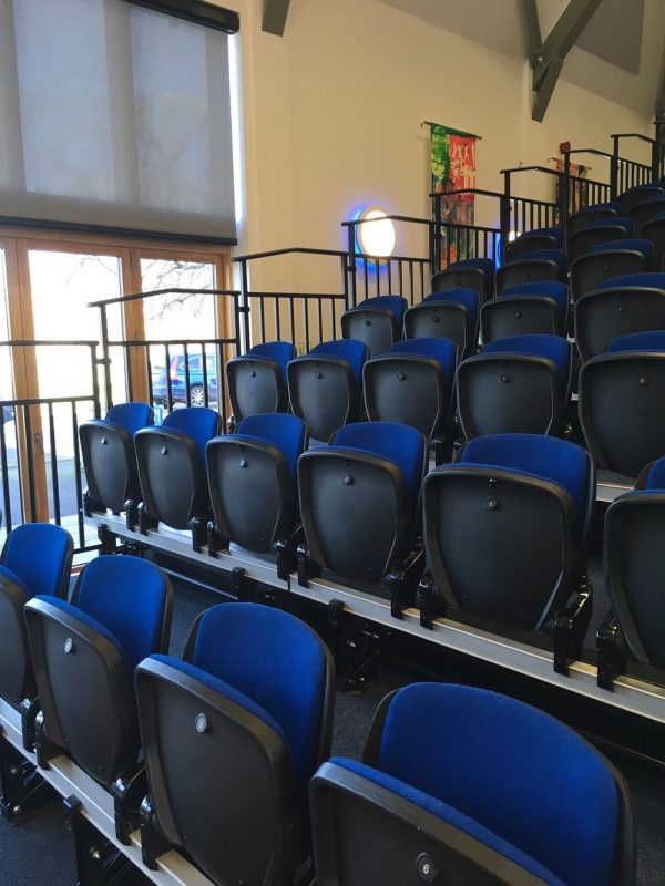 Warminster School Retractable Seating
