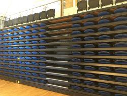 Warminster School Retractable Seating