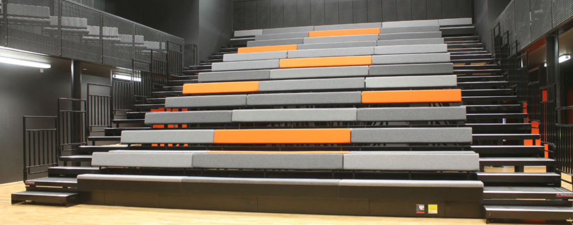 Retractable Seating Chobham Academy