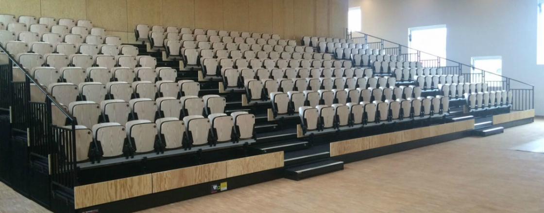 Decra Hussey Seatway Retractable Seating