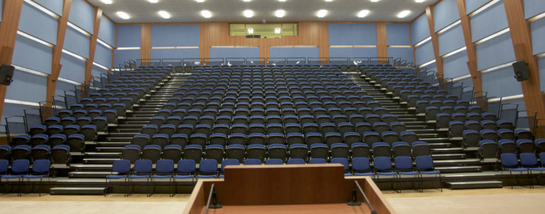 English School Kuwait Retractable Seating