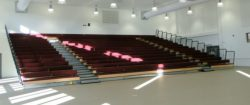Retractable Seating Ilfracombe Academy
