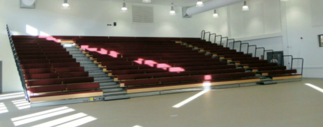 Solutions Retractable Seating Hussey Seatway