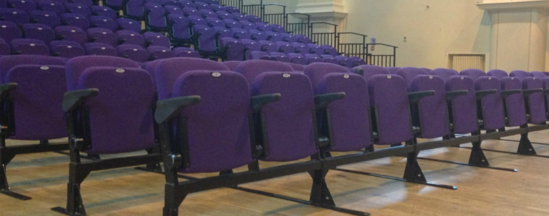 Logix Removable Seating Formatted Row Seating Hussey