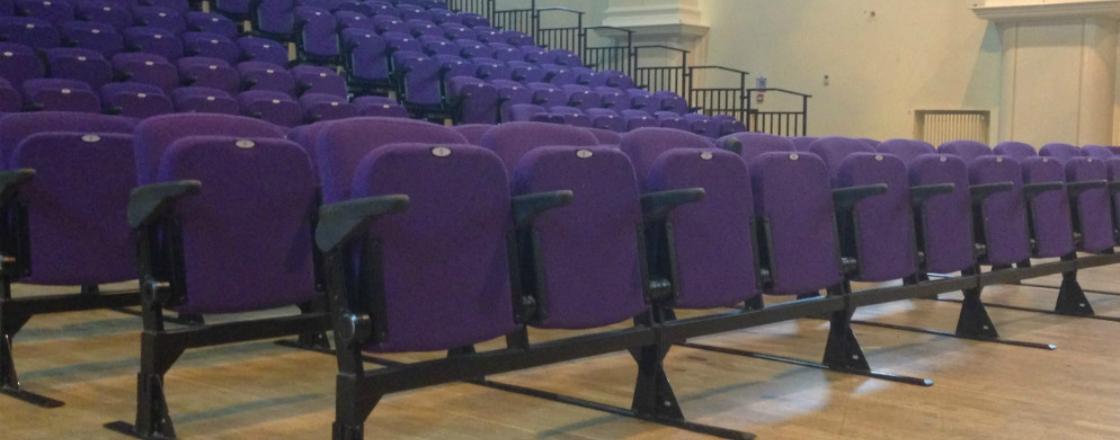 Logix Flat Floor Seating Hussey Seatway