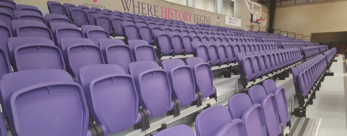 Loughborough University Retractable Seating