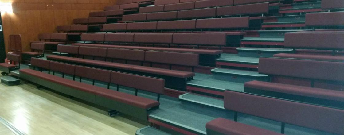 Refurbishments Case Studies Retractable Seating