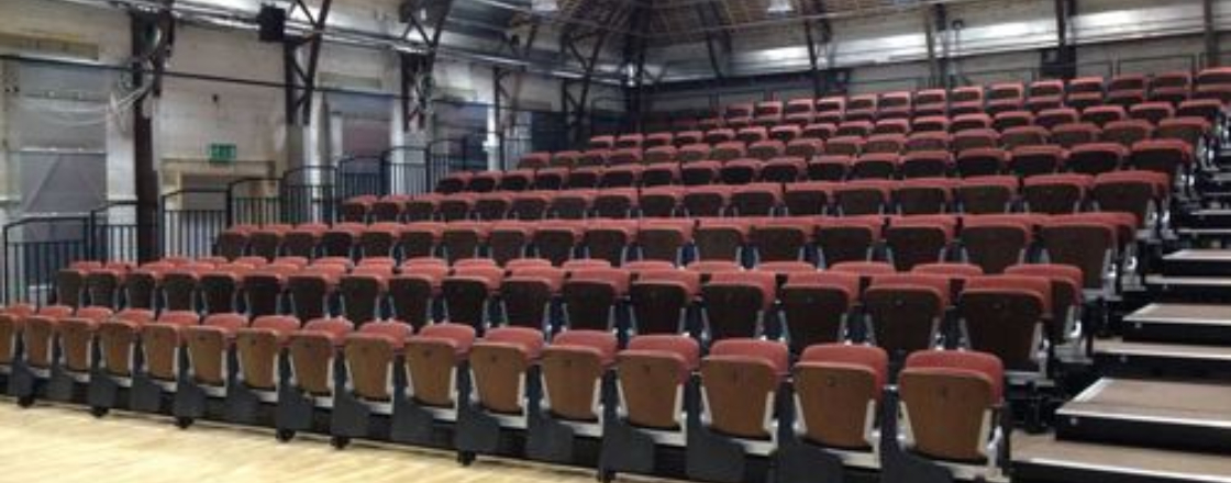Retractable Seating Hussey Seatway TP & Decra