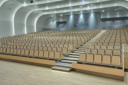 Retractable Seating Swiss International Scientific School