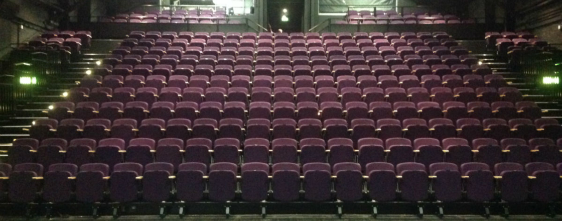 Retractable Seating by Hussey Seatway at The Place Theatre