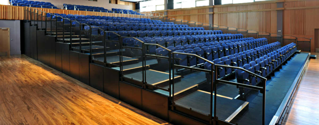 Trinity School Retractable Seating