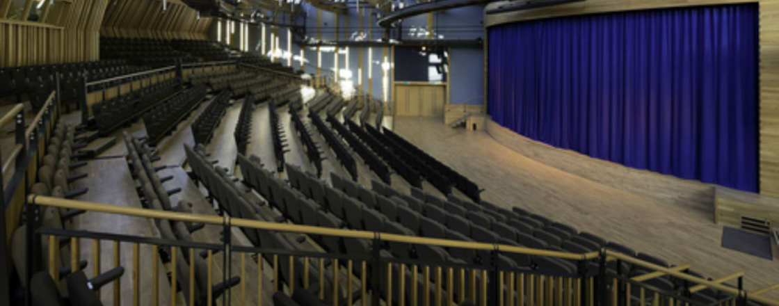 Yarm School Retractable Seating