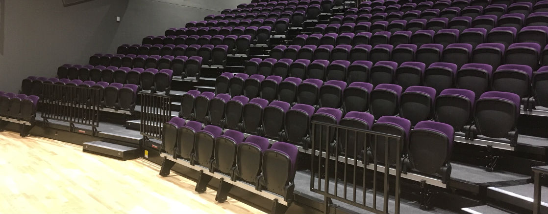 Retractable Seating at The Deanery Academy