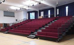 Refurbishment Club Bench Retractable Seating