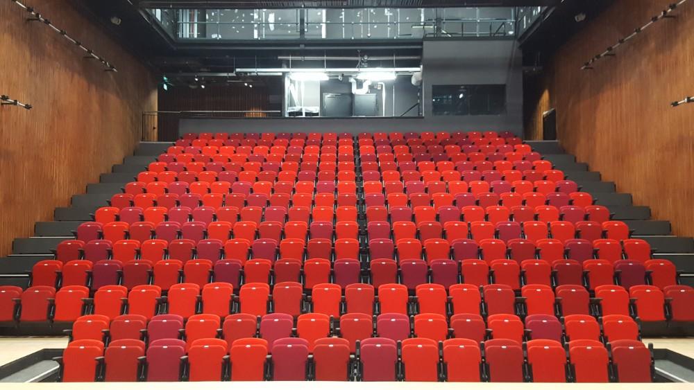 Retractable Seating Cumbernauld Main Auditorium