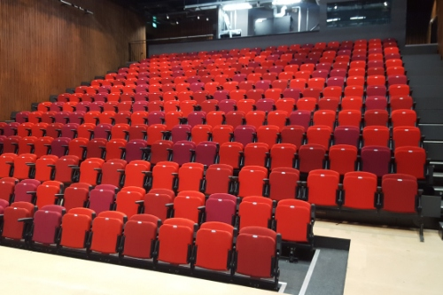Retractable Seating Cumbernauld Theatre Hussey Seatway