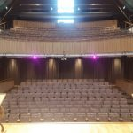 Retractable Seating at The Great Hall Canterbury