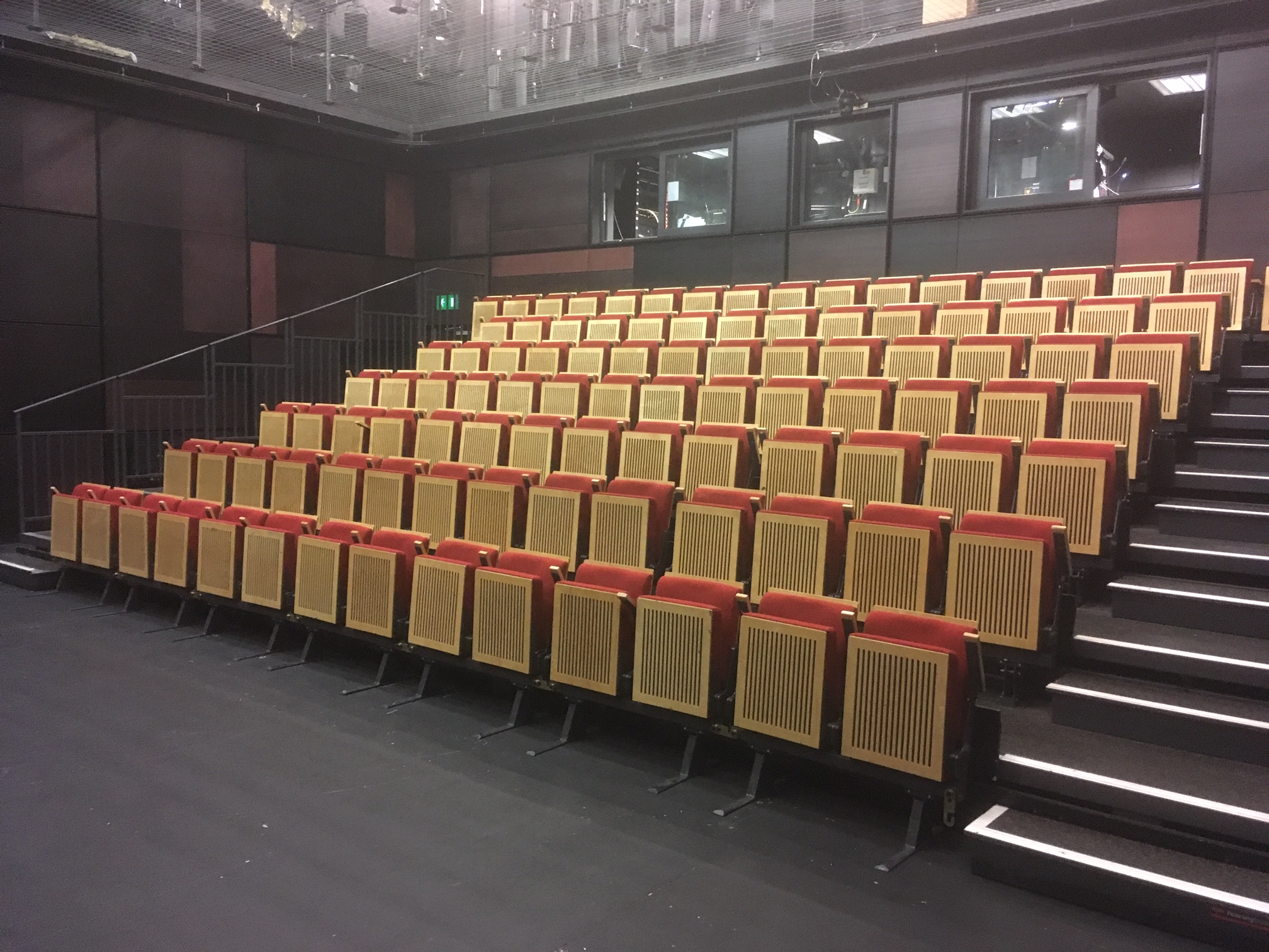 Retractable Seating for multi use space