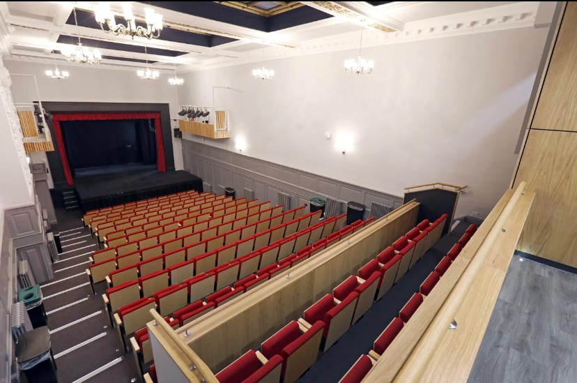 Durham University Assembly Rooms Theatre Hussey Seatway