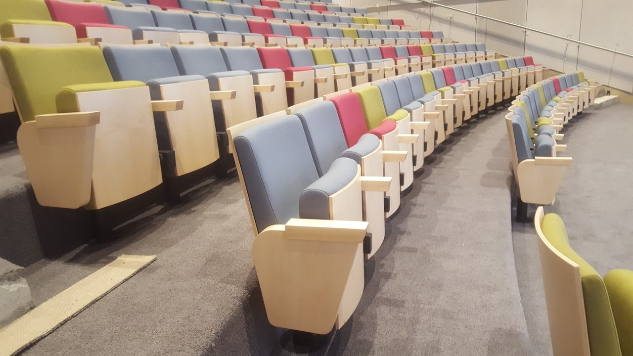 Cervantes Hussey Seatway Fixed Auditorium Seating